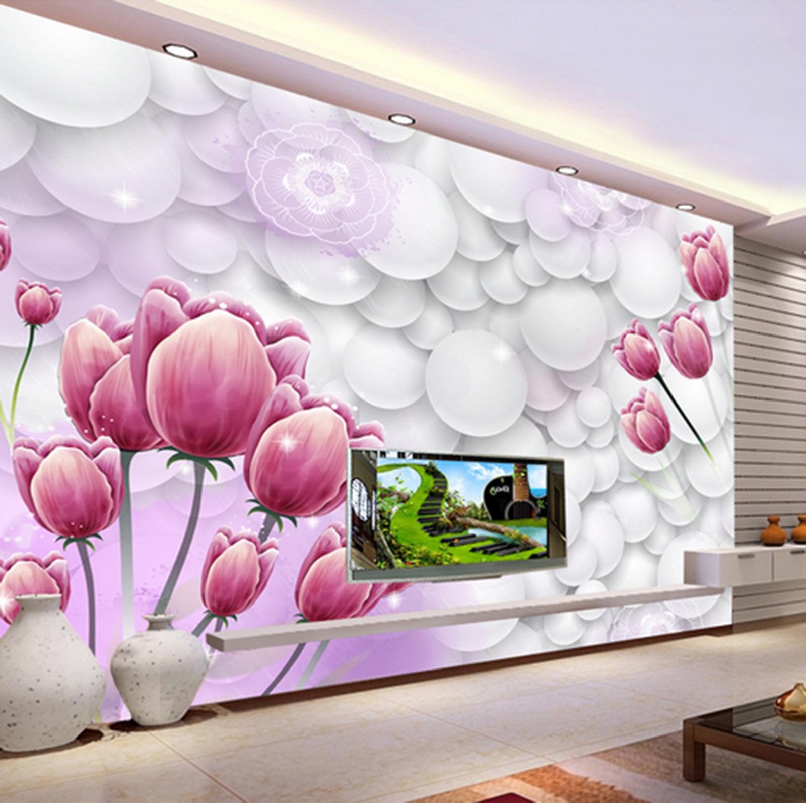 3D Flowers Buds 10 Wall Paper Wall Print Decal Wall AJ WALLPAPER CA