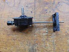 MORLEY MXB MAIN SHAFT & TAIL DRIVE GEARBOX ASSEMBLY