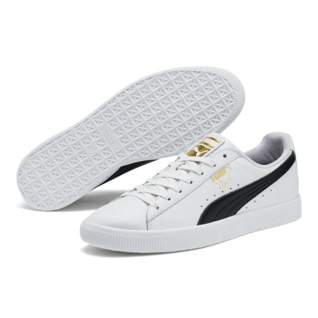 PUMA Clyde Core L Foil White Black Size