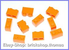 Lego 10 x Basic Steine Orange - 3004 - Brick 1 x 2 - NEU / NEW