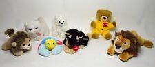 Trudi PELUCHE ORSO CANE gatto leone bear granchio ORIGINALI sof toy vintage-0022