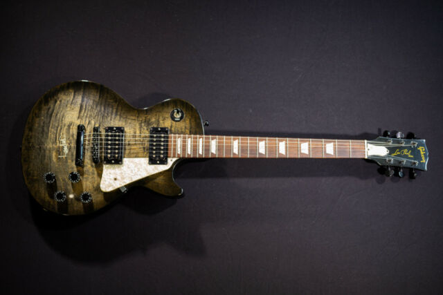 """/""""Gold Tweed/"""" Deluxe-Koffer für Les Paul-Typ E-Gitarre"""