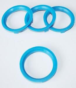 Spigot Rings Aluminium fit alloys 67.1mm to 57.1mm Spacers Hub 67.1-57.1 4
