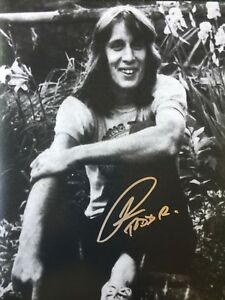 Todd Rundgren Signed 8x10 Photo Coa Entertainment Memorabilia