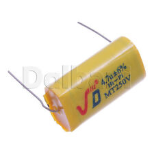 2pcs MT250V New Polypropylene Non-Polarized Audio Capacitor 250V 2.0uF