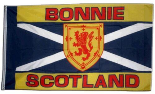 Drapeau ECOSSE BONNIE SCOTLAND drapeau écossais Hissflagge 90x150cm