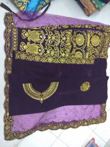 Bridal Lehenga Choli Designer Wedding Indian Pakistani Traditional Lengha MC9001
