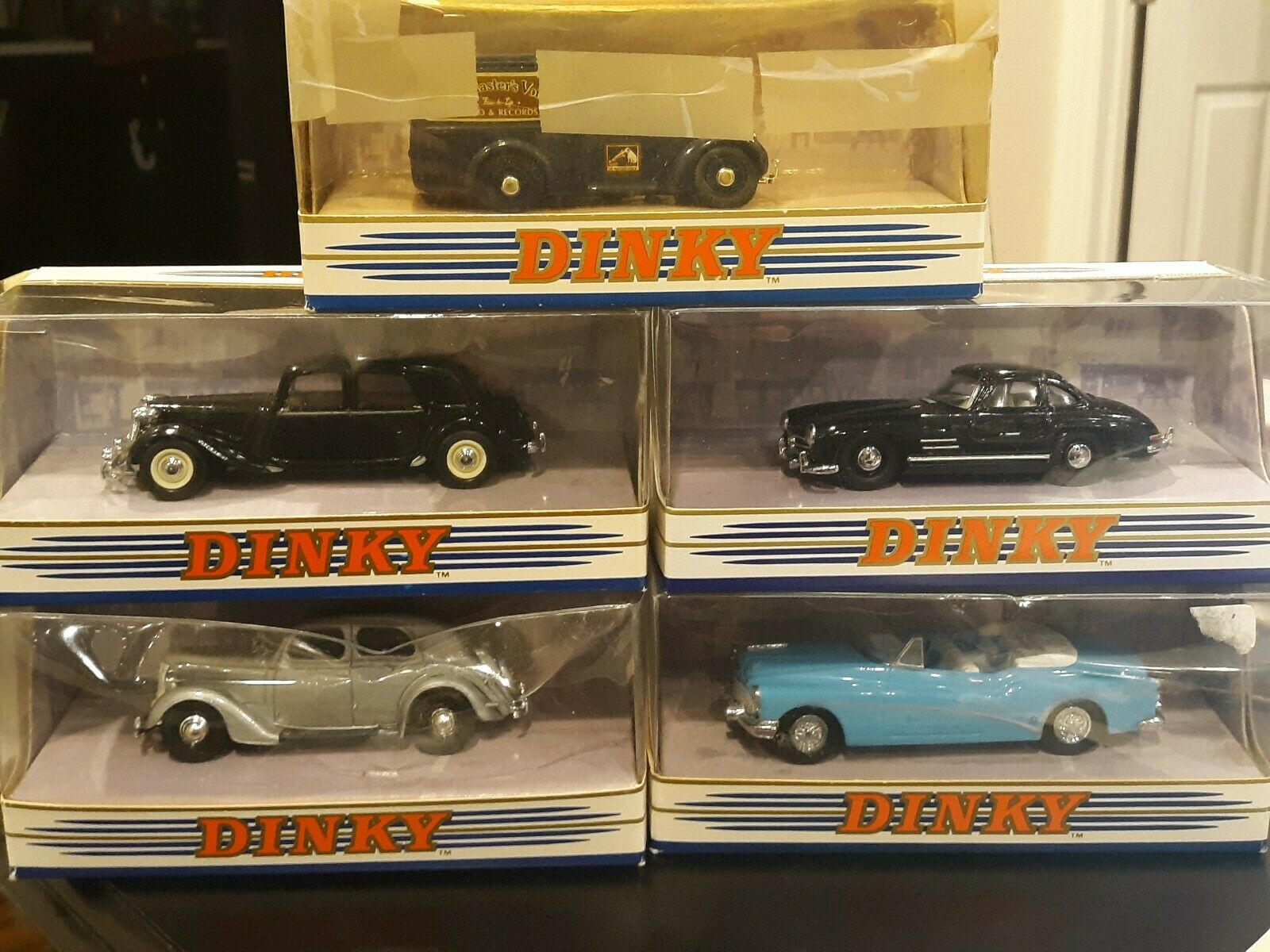 Matchbox Dinky Collection Lot Of 5  DY8-B, DY029 B, DY12B, DY5-B, DY22