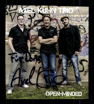Axel Kühn Trio Autogrammkarte Original Signiert ## Bc 68631 Modern Und Elegant In Mode Musik Sammeln & Seltenes