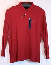 Club Room Mens Estate Collection Performance Rugby Polo Shirt