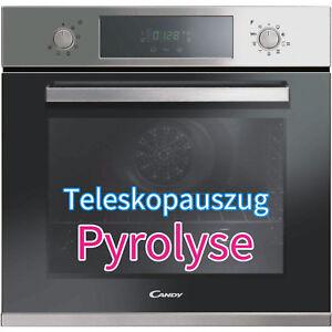 Candy-PYROLYSE-Einbau-Backofen-XL-mit-Selbstreinigung-Edelstahl-Teleskopauszug