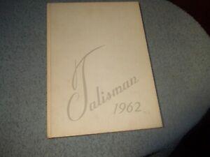 1962-PITMAN-HIGH-SCHOOL-YEARBOOK-PITMAN-NJ-TALISMAN