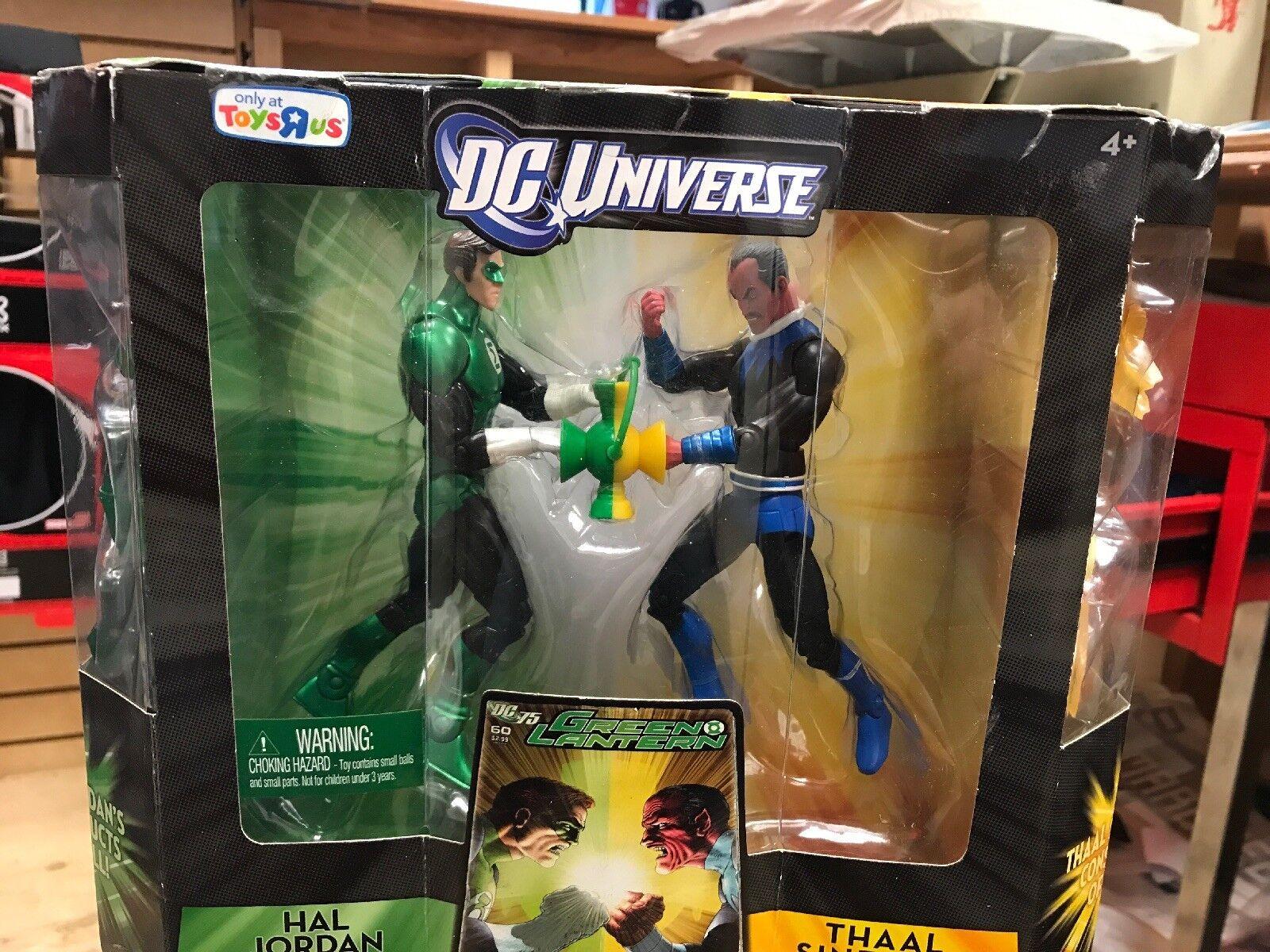 DC Universe Hal Jordan & Thaal Sinestro Tru Exclusive Action Figures