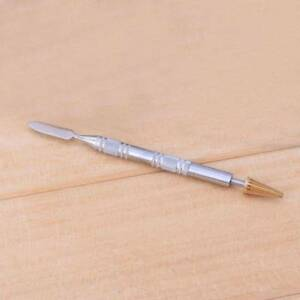 Details About 1pc Dual Head Leather Edge Oil Dye Painting Pen Applicator Paint Roller Tool Diy