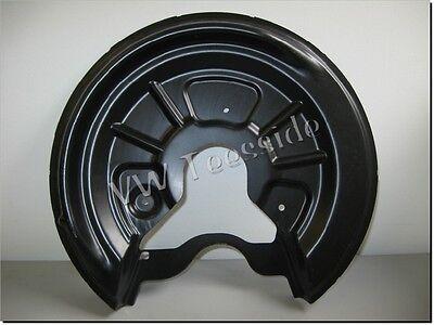 AUDI A3 TT ROADSTER SEAT LEON TOLEDO LEFT REAR BRAKE DISC PLATE BACKPLATE ;;;