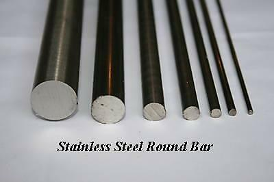 "Stainless Steel 303  Round Bar 1/"" Dia x 500mm"