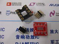 1x DIP8 to SOP8 SOIC8 PCB adapter DIP8 TO SMD Converter DIY