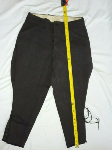Vintage Riding Pants, Wool Work Trousers, equestri