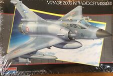Monogram 1:48 Mirage 2000 With Exocet Missles Model Kit# 5446