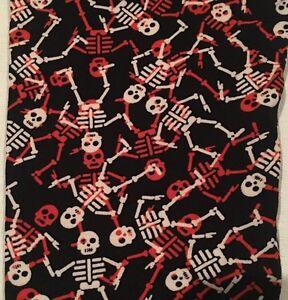 8663477cdb85e5 Image is loading New-Lularoe-OS-Leggings-Halloween-Orange-White-Skeletons-