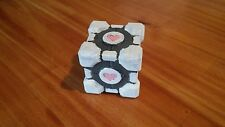 "3D Printed Weighted Companion Cube 2"" Portal Orange Box"