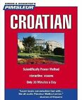 Compact: Croatian : Learn to Speak and Understand Croatian with Pimsleur Language Programs by Pimsleur (2005, CD, Abridged, Unabridged)