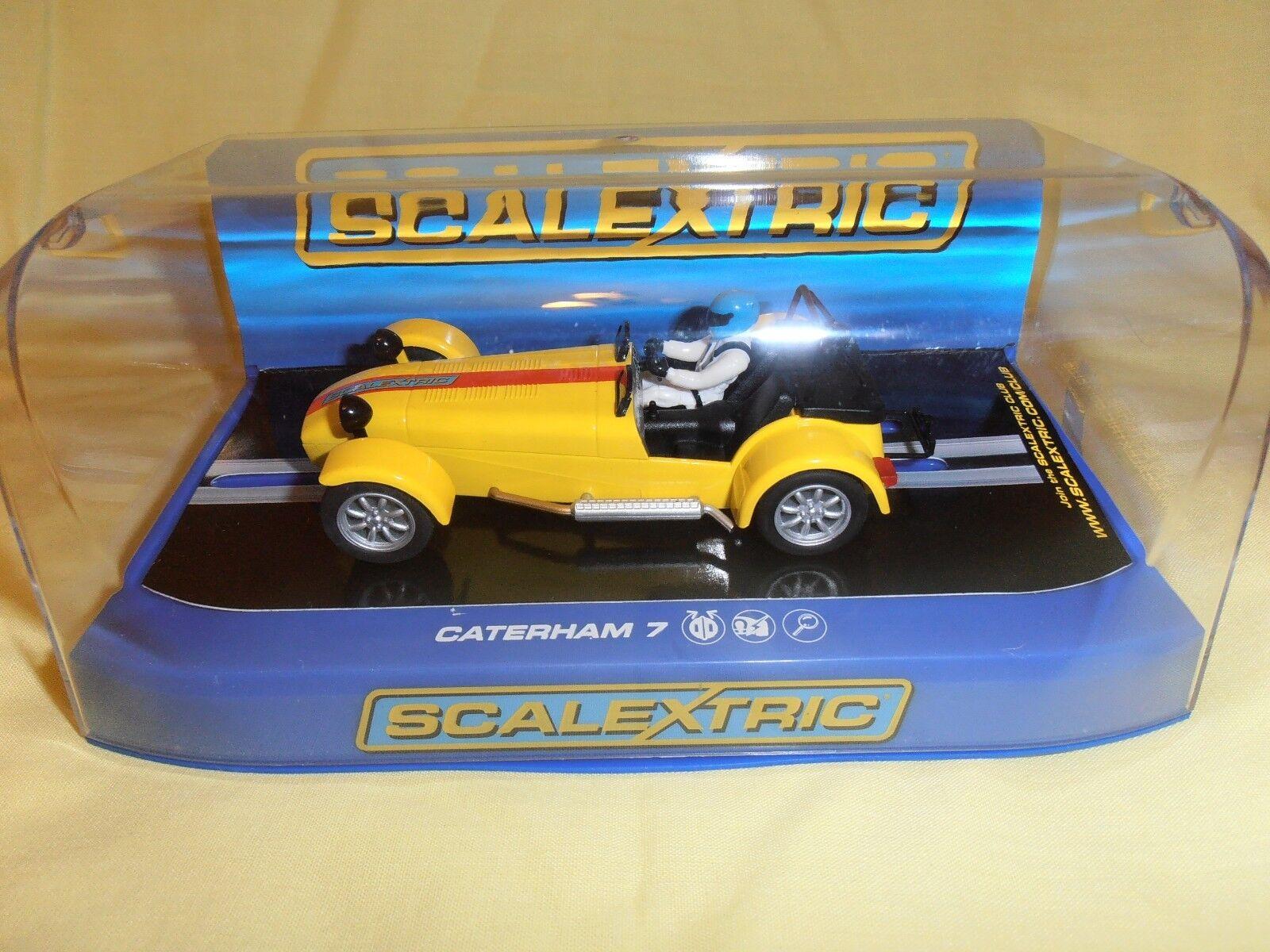 SCALEXTRIC C3425 Caterham 7 Collector Centre Car Ltd Edition of 1500 ninco scx