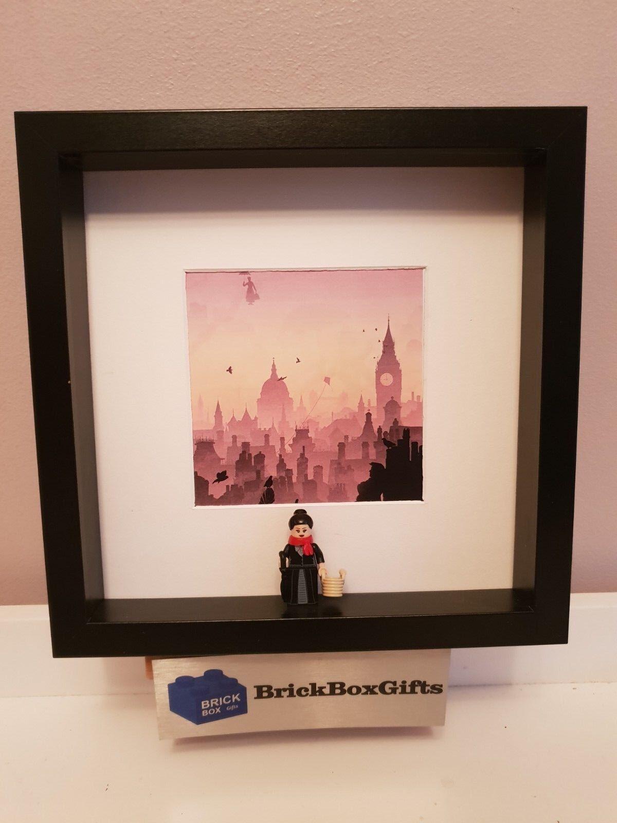 Mary Poppins 3D 3D 3D minifigure movie film frame skyline 7175ec