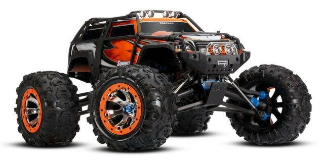 Traxxas Summit RTR 4WD Monster Truck (Orange) - TRA56076-4-ORANGE