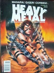 Heavy Metal Magazine (various '95,  '96, '97)