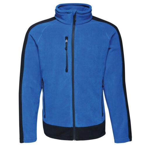 Regatta Mens Professional Collection Contrast 300 Full Zip Heavyweight Fleece