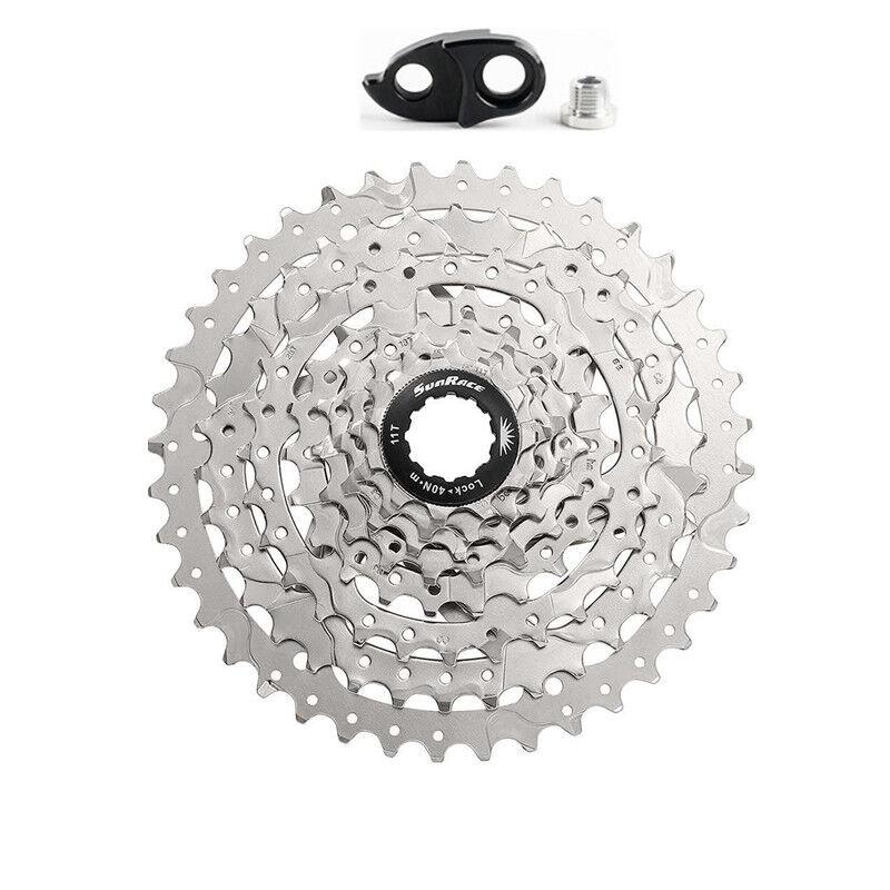 Sunrace 10Vitesse 11-40 42 46t CSM680 Roues vélo cassette roue pour Shimano SRAM