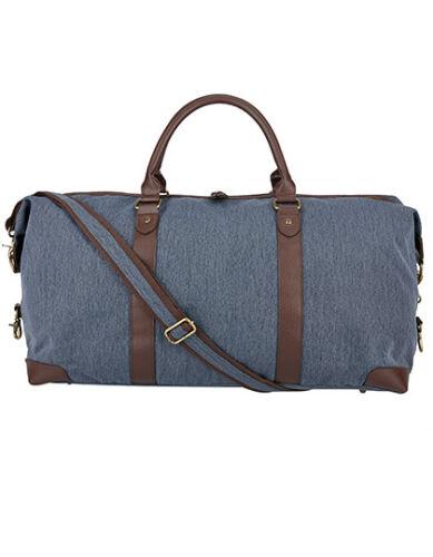 Bags2Go Allround Sports Bag 62l Vintage Canvas Reisetasche Freizeit Jeans Optik