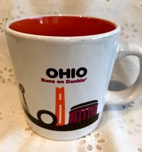 Dunkin Donuts Ohio State Coffee Mug