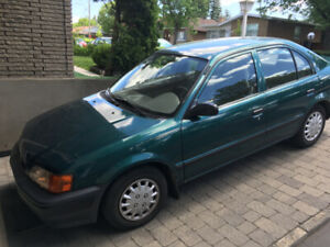 1997 TOYOTA TERCEL perfect condition parfaite, with winter tires