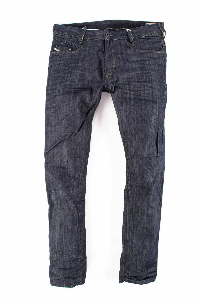 DIESEL TAPERED TOP QUALITY JEANS W34 - WAIST 18     46 CM - RRP