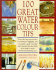 100 Great Watercolour Tips by Miranda Fellows (Board book, 1994)
