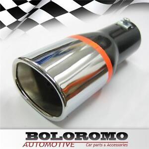 Exhaust-Tip-Trim-Muffler-Pipe-Chrome-For-Vauxhall-Opel-Tigra-Meriva-Zafira-Corsa