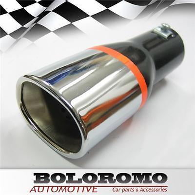 Car Exhaust Tip Muffler Trim Chrome For Mercedes 190 B Cl Clk E Gl Ml S Slk