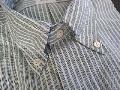 NWOT Brooks Brothers Gray Supima Oxford Button Down 15-31 Milano Fit MSRP $140