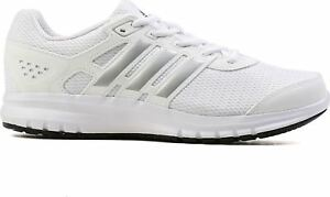 Image is loading Adidas-Duramo-Lite-mens-Running-trainers-White-silver b18a17bf68ef9