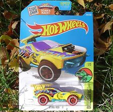 YELLOW Sting Rod II. 2016 Hot Wheels Dino Riders. DHT32. NEW in Blister Package!