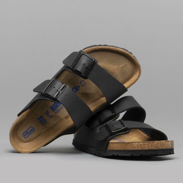 38bef02d2b1fdd Birkenstock ARIZONA 551251 Reg Unisex Mens Womens Soft Footbed Sandals Black