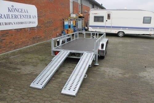 Maskintrailer, Tema Tema Builder 2 2700 kg, lastevne (kg):