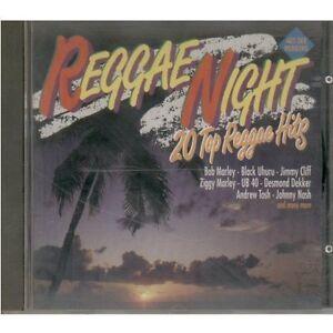 Reggae-night-20-Top-Reggae-Hits-1992-K-TEL-Jimmy-Cliff-Ziggy-Marley-ub40-D