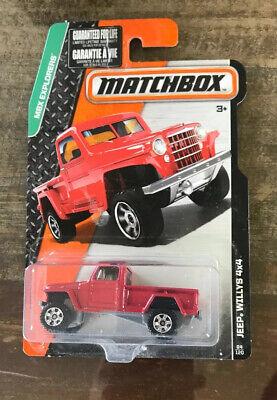 MBX 4x4 Buggy Matchbox 105//125 escala 1:64 OVP nuevo