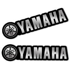 2 Adesivi Vinile Stickers Auto Moto Tuning Emblema Yamaha Racing R1 R6 TMAX