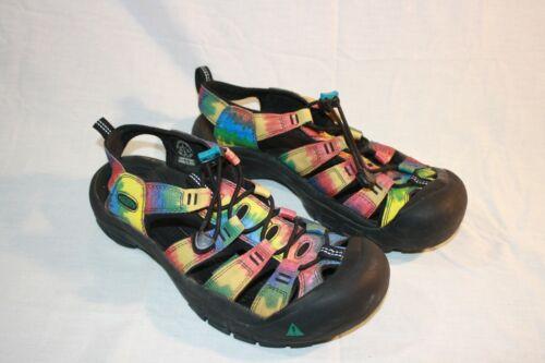 KEEN Rainbow Tie Dye Newport WMNs 9M Waterproof Wa