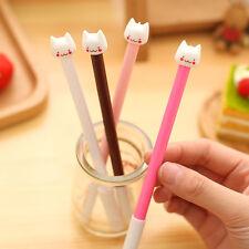 Cute 12PCS Gel Pens Fashion Korean Lovely Smile Cat Kitty Cartoon Neutral Pens