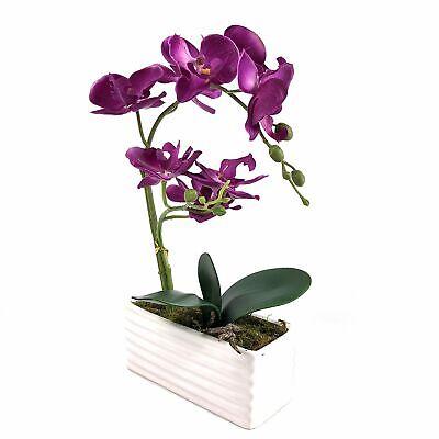 Orquideas Plantas Matas Arreglos Florales Artificiales Para Decoracion Arboles Ebay